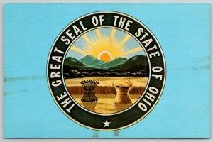 Ohio State Seal~Design by William Creighton 1st Secretary of State~Mount Logan