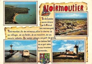 France Ile de Noirmoutier, Moule Mill Road Car Voiture Panorama