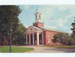 Pre-1980 Wabash College - Crawfordsville - Near Lafayette Indiana IN E1849