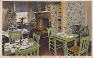GANANOQUE , Ontario, Canada, PU-1929 ; Interior, Golden Apple Tavern