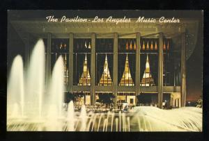 Las Angeles, California/CA Postcard, The Pavilion Music Center