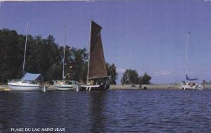 Plages et Voiles, Le Saguenay-Lac-Saint-Jean, Quebec, Canada, 40-60s