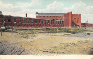 Federal Prison Leavenworth, Kansas, USA 1907