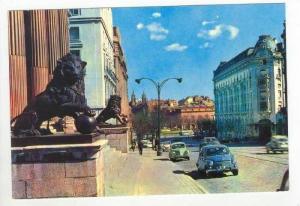 Street view, Madrid, Spain, 40-60s