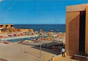 Libya Tripoli The Tourist City Swimming Pool Postcard