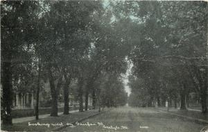 Carlyle Illinois~Fairfax Street Homes~Looking West~1906 CU Williams Photoette
