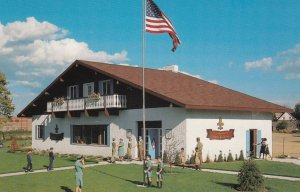 FRANKENMUTH , Michigan , 40-50s ; Boy Scout Building