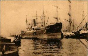 CPA AK Steamer Ingeborg - Segelschiffhafen - Hamburg SHIPS (911939)