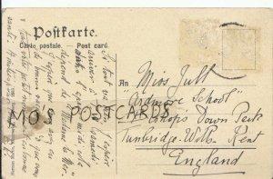 Genealogy Postcard - Jull - Bishop's Down Park - Tunbridge Wells - Ref 699B