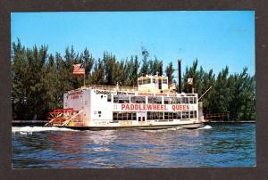 FL Paddlewheel Queen Cruise Boat FT LAUDERDALE FLORIDA