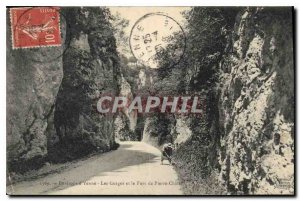 Postcard Old Surroundings Yenne Gorges and Fort Pierre Chatel