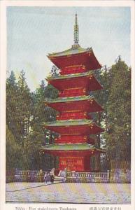 NIKKO, Tochigi, Japan, Five storied-tower, Toushougu, 10-20s