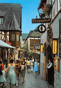 Ruedesheim Drosselgasse Drosselhof Strasse Bar Schloss