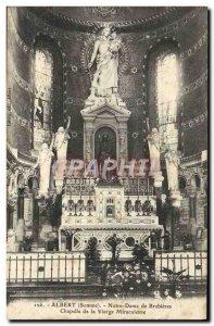 Old Postcard Albert Notre Dame De Brebieres Chapel of the Miraculous Virgin