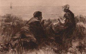 Flirtation,Jozef Israels Painting BIN
