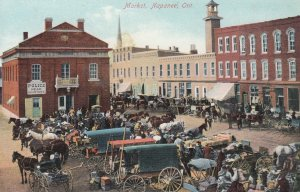 NAPANEE, Ontario, Canada, 1900-10s; Market, Police Headquarters