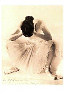 Postcard, Ballet Dancer, Ballerina, photo by Erwin Blumenfeld, New York 1946 AU7