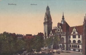DUISBURG, North Rine-Westphalia, Germany, 1900-1910's; Rathaus
