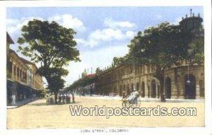 York Street Colombo Ceylon, Sri Lanka Unused