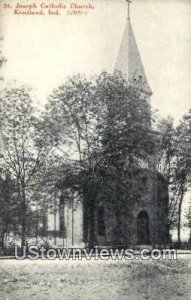 St. Joseph Catholic Church - Kentland, Indiana IN