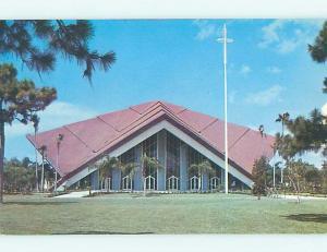 Unused Pre-1980 CHURCH SCENE St. Saint Petersburg Florida FL p3696
