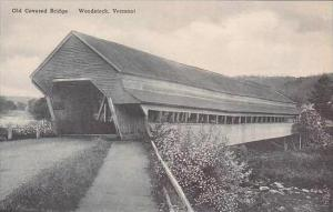 Vermont Woodstock Old Covered Bridge Albertype