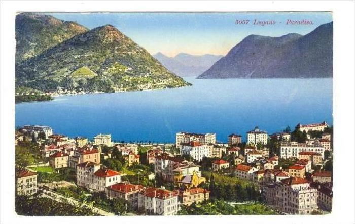 LUGANO , Ticino, Switzerland, 00-10s   Paradiso