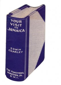 Your Visit to Jamaica Book 1934 Punch Bowl Kingston Cruise Tourist Advertising