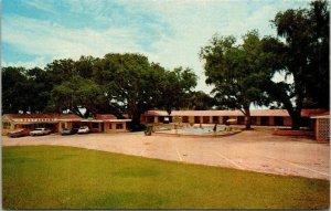 Postcard Peeks Motel And Restaurant Dade City Florida US 301 US 98 Unposted 1513