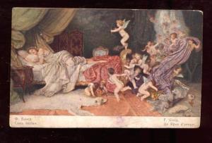 026262 Dreaming Belle & Nude CUPID & Angels by VINCA RUSSIAN
