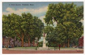 Pittsfield, Mass, Park Square