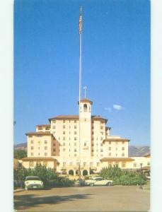 Unused Pre-1980 BROADMOOR HOTEL Colorado Springs Colorado CO hr6551