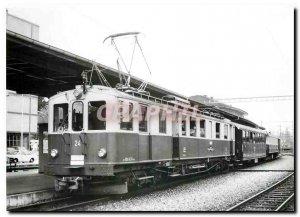 Postcard Modern Tram SZB BDe 4 April 24 im Zustand