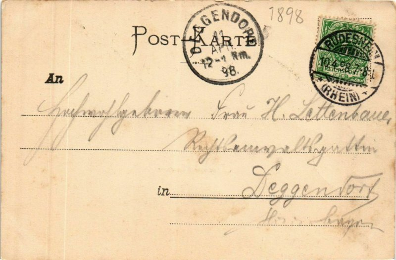 CPA AK Assmannshausen - Totalansicht GERMANY (859870)