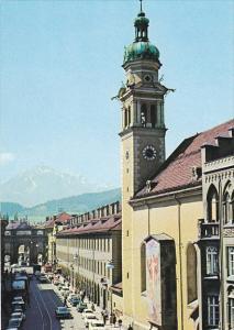 Austria Innsbruck Servitenkirche Innsbruck und Kloster