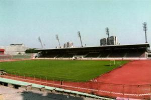 bulgaria, BOURGAS, Naftex Stadion (1990s) Stadium Postcard