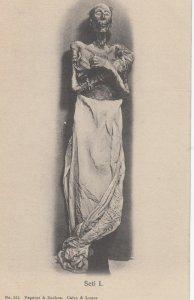 Pharaoh Seti I  , Egypt , 1901