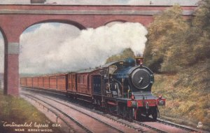 UK: Continental Express near BRENTWOOD , G.E.R., 1900-10s : TUCK 6493