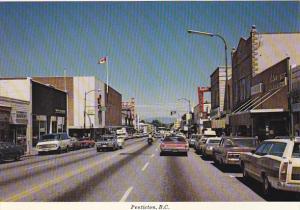 Canada Street Sceene Penticton British Columbia