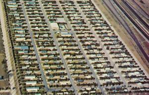 Morningside Travel Trailer Park , ALAMO , Texas , 40-60s
