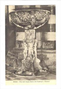 Siena, Italy , 00-10s   Pila dell'Acqua Santa del Federighi - Duomo
