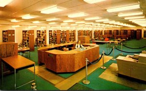 New York Hamburg Hilbert College Learning Resource Center Interior View