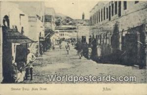Aden Republic of Yemen Steamer Point, Main Street Aden Steamer Point, Main St...