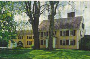 Massachusetts Concord Major John Buttrick House Minute Man National Historica...