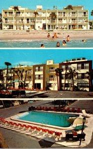 Florida Indian Rocks Beach Gulf Towers Apartment Motel