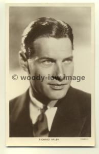 b0015 - Film Actor - Richard Arlen - Picturegoer Postcard 350c