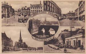 5-Views, Greetings from Rotherham, Yorkshire, England, United Kingdom, 10-20s