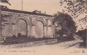 France Langres Porte Romaine