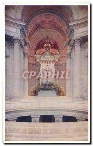 Old Postcard Paris Hotel Des Invalides Interior Du Dome