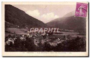 Thones - Vue Generale taken to Calvary - Old Postcard
